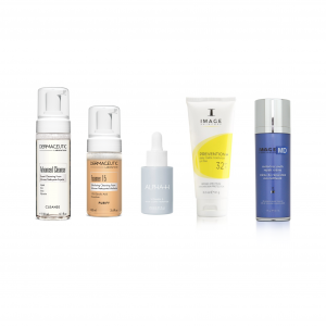 LITTEKENS en GROVE PORIËN verminderen - normaal tot vette huid (set) beste producten om littekens en grove poriën te verminderen
