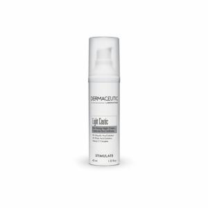 Dermaceutic Light Ceutic egaliserende nachtcreme. Vermindert pigmentvlekjes en vlekjes die achterblijven na acne