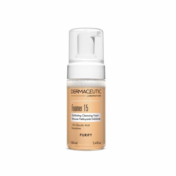 Dermaceutic Foamer 15 Glycolzuur cleanser voor het verminderen van acne, pigmentvlekken en rimpels