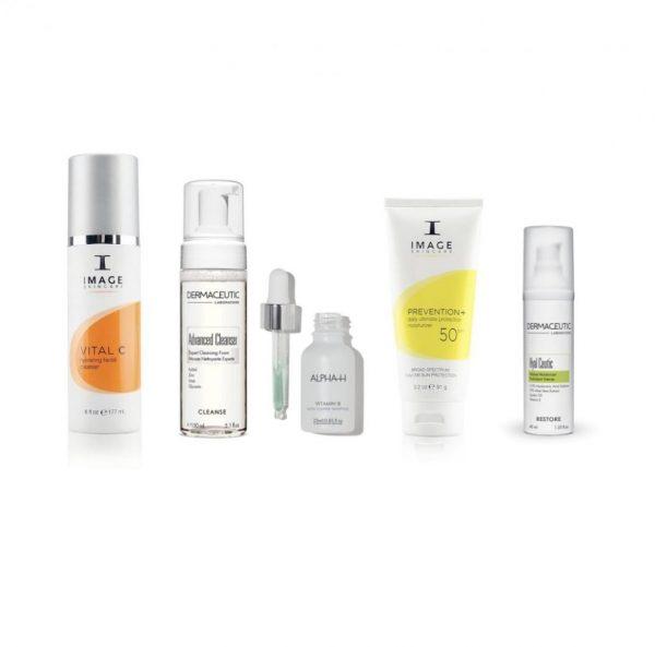 ROODHEID verminderen - vochtarme huid (set) beste producten om roodheid te verminderen