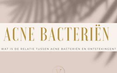 Wat is de relatie tussen acne bacteriën en ontstekingen?