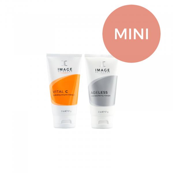 Masker duo VIVE Huidtherapie VITAL C enzym masker & Ageless total resurfacing mask