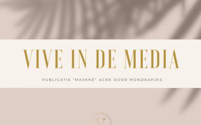 """(online) publicaties """"Maskné"""" acne door mondkapjes"""
