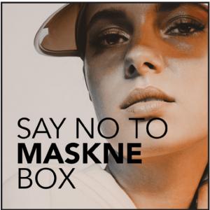 Say No to maskne box