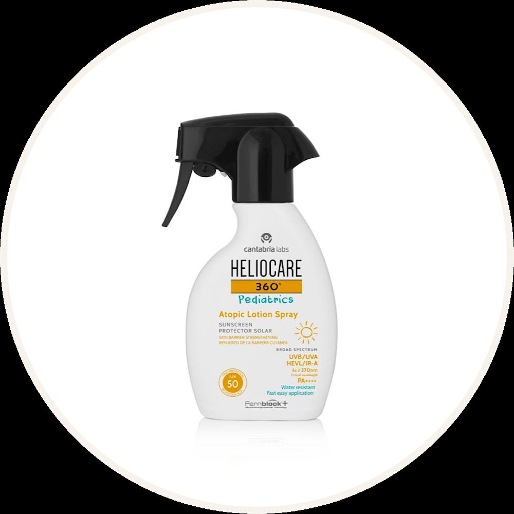 Heliocare 360° Atopic Lotion Spray SPF 50