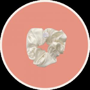 VIVE Huidtherapie zijden haar scrunchies