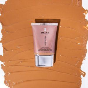 I CONCEAL Flawless Foundation – Deep Honey IMAGE Skincare VIVE Huidtherapie